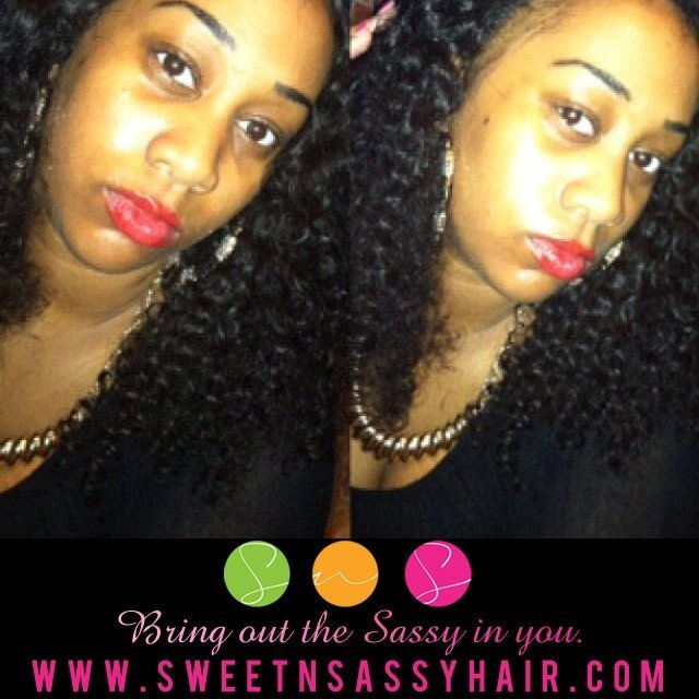 Cambodian-kinky-Curly-hair 16,18