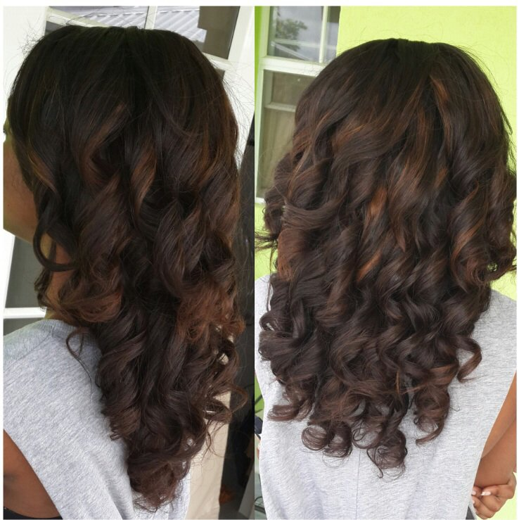 European-Spring Curl-Hair