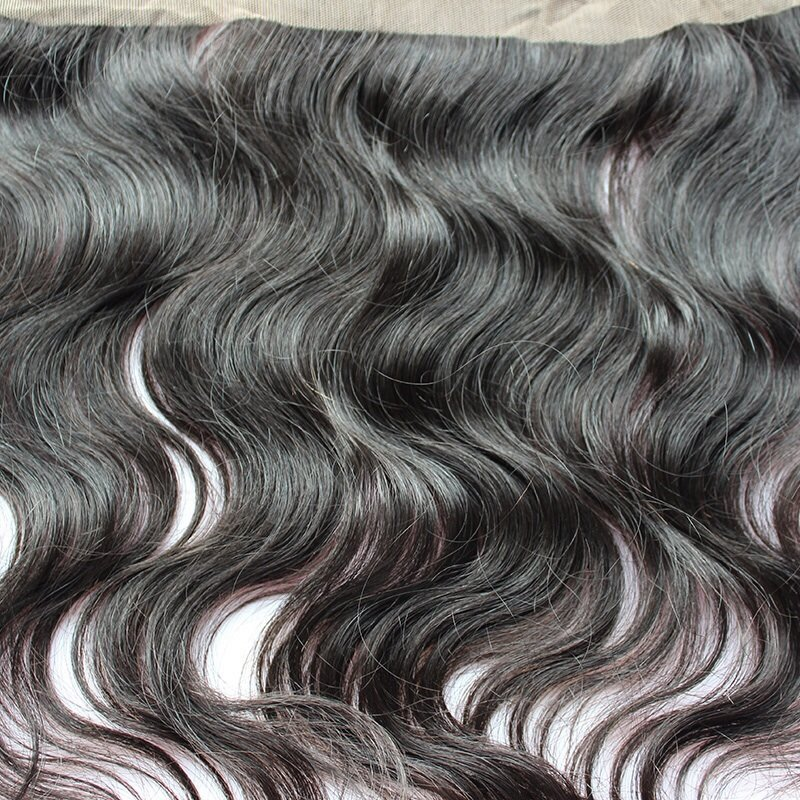 Body Wave Lace Frontal Closure close up