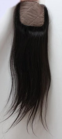 Natural Straight Closure Silk Base
