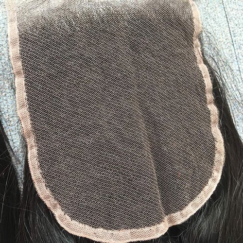 Swiss Lace Closure Lace Side