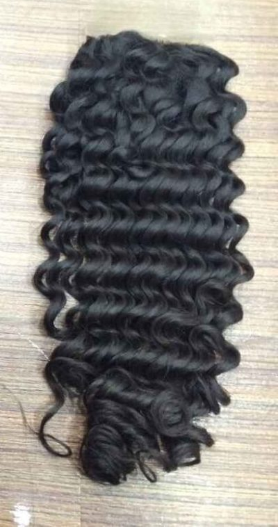kinky curly hair closure