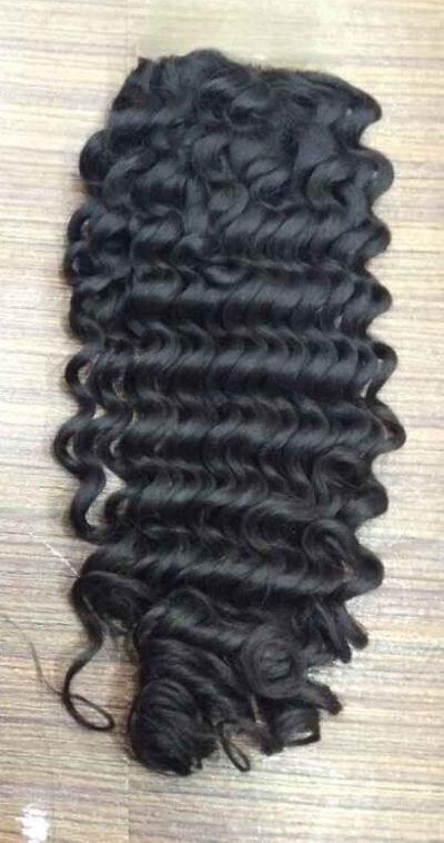kinky curly hair closure