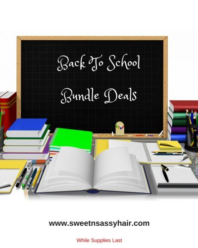 Back To School Hair Bundle Deals
