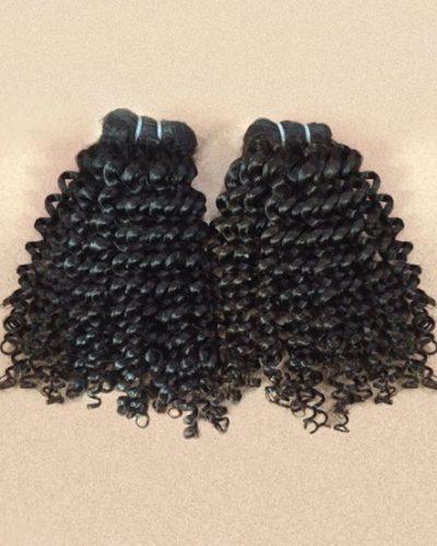 Burmese Kinky Curly Hair