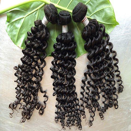 Eurasian Deep Curly Hair