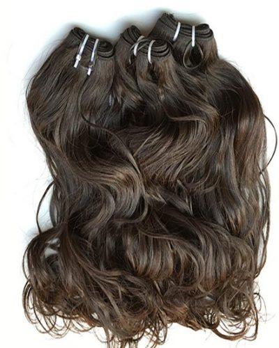 Mongolian Natural Wave Hair Weave