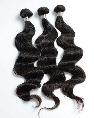 Peruvian loose body wave hair