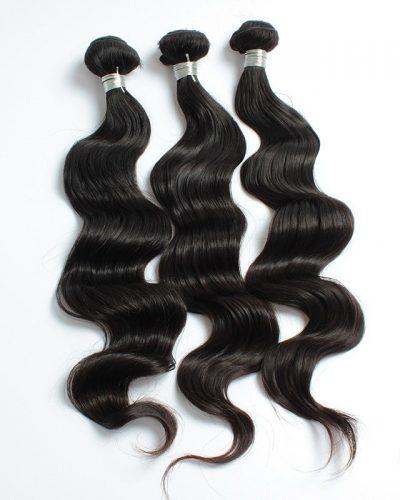 Peruvian loose body wave hair