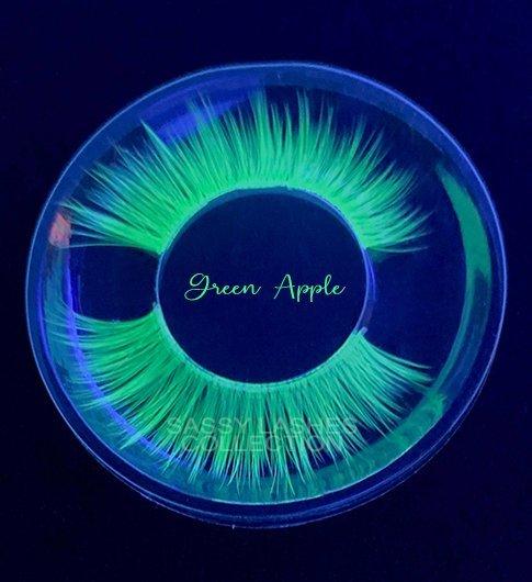 Neon Green Lashes