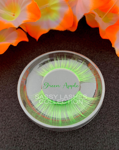 Neon Green Lashes