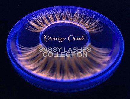 Neon Orange Lashes