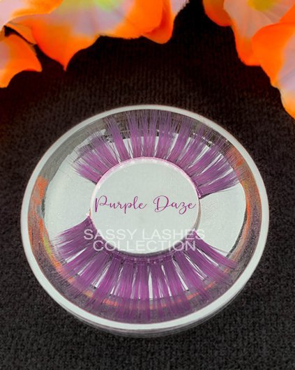 Neon Purple Lashes