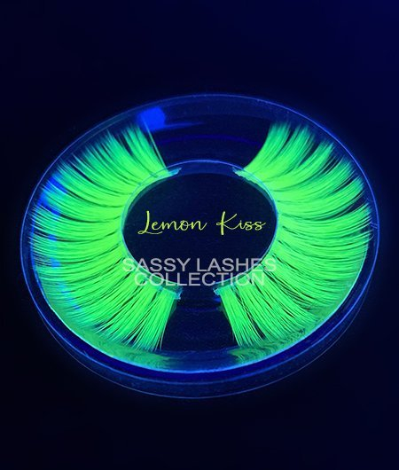 Neon Yellow Lashes